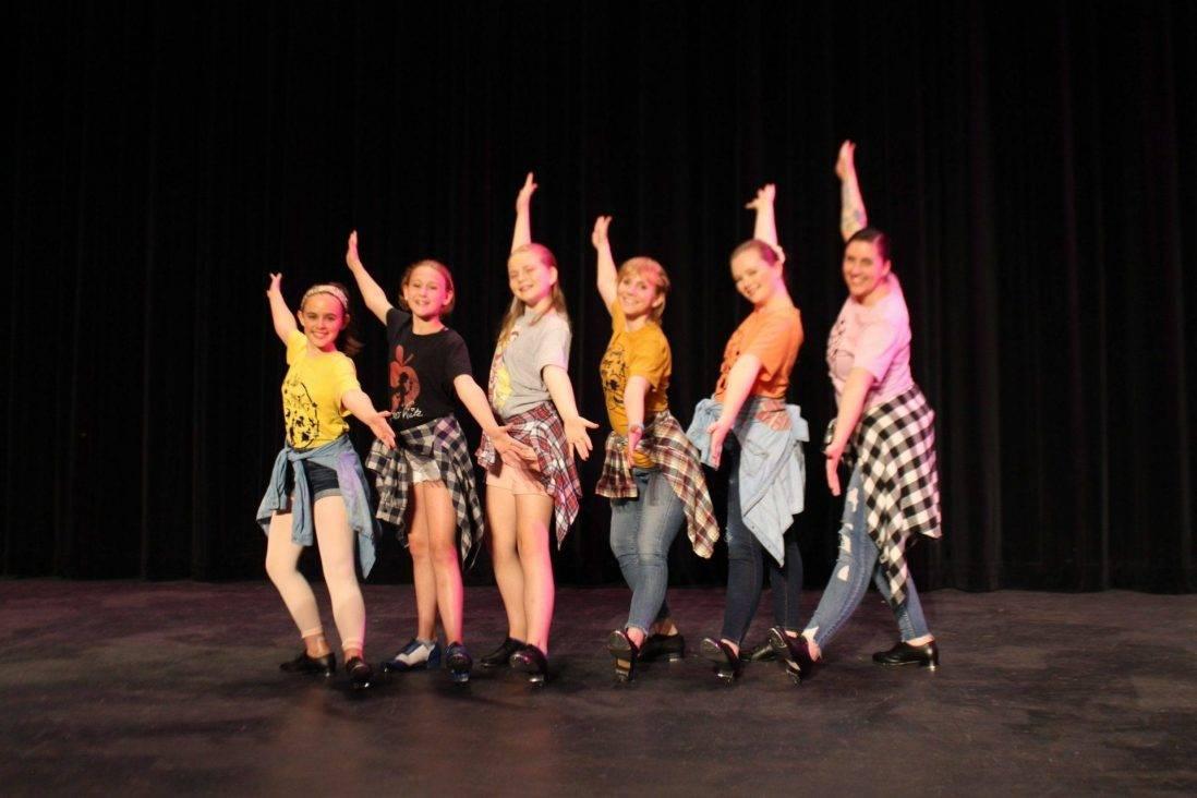 Adult Tap Dancers American Dance Institute