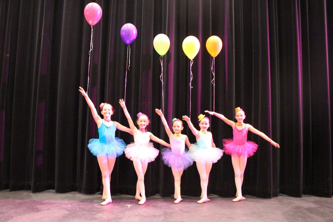 Children's ballet student for American Dance Institute