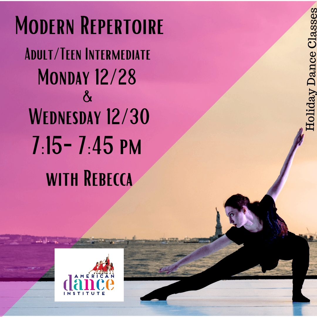 Holiday ballet classes with Rebecca
